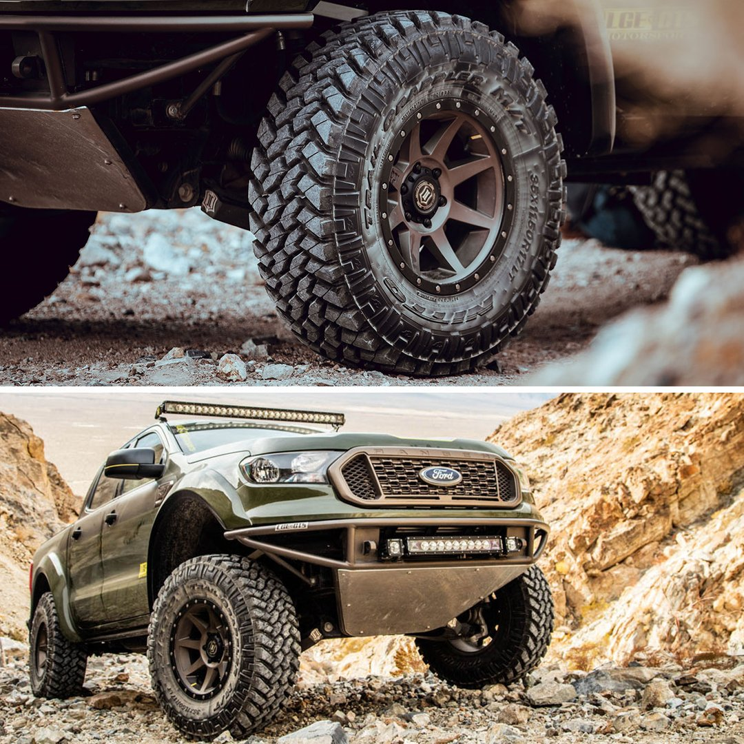 Meaty tires on a purpose-built Ranger. #TrailGrappler https://t.co/Lx9zIhPqMV