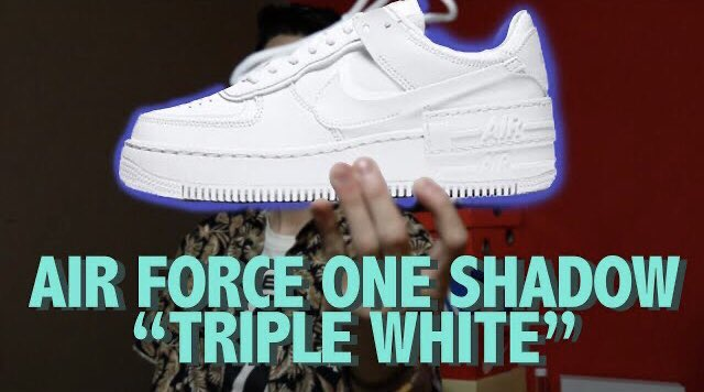 Nuevo video amigos sobre este hermoso Air Force One Shadow ❤️ https://t.co/RfOJEbMHRz #Nike #af1 https://t.co/qwDIvg05vA