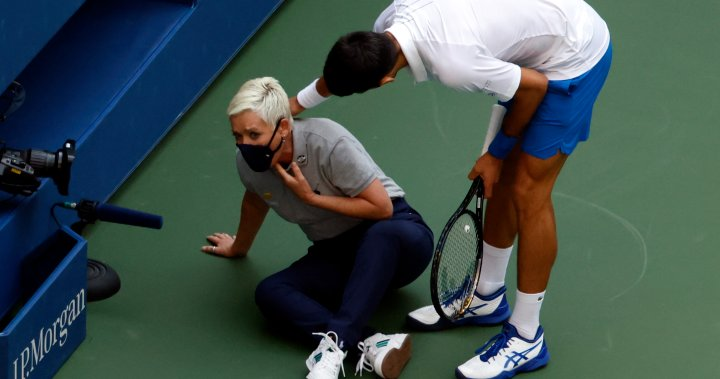 New post (Novak Djokovic out of U.S. Open after unintentionally hitting judge with ball - Global News) has been published on news204 - https://t.co/dQw3pXDRbn https://t.co/EI7G8c3KTO