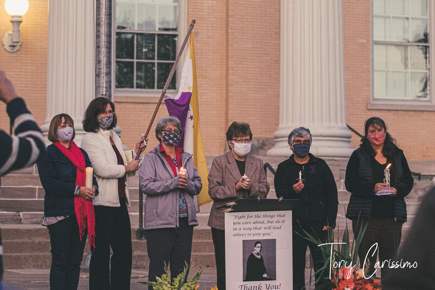 Vigil held in Canandaigua to remember Justice Ruth Bader Ginsburg
