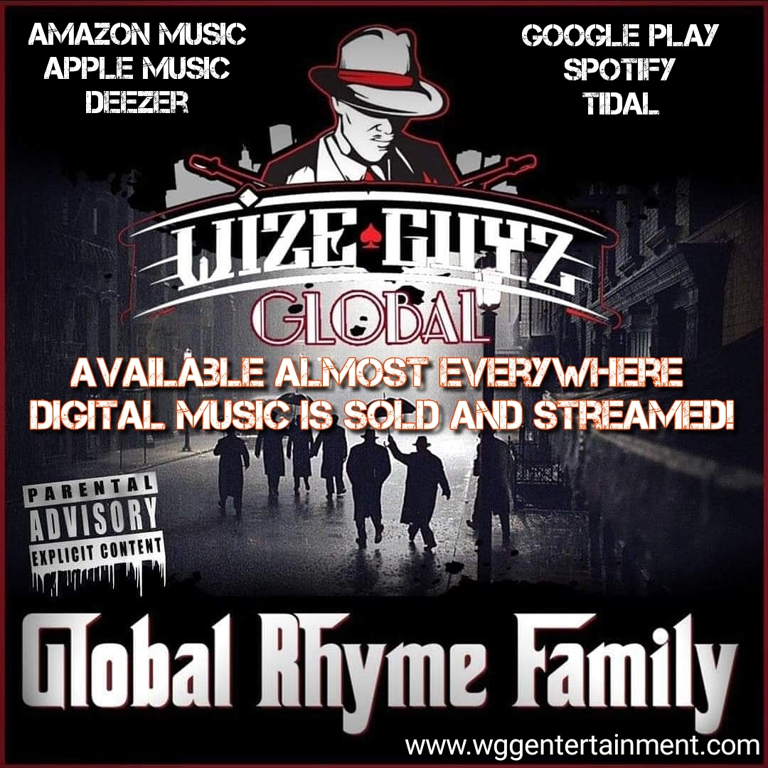 #WizeGuyzGlobal #GlobalRhymeFamily #Compilation #NowStreaming #AppleMusic #Deezer #iTunes #Napster #Spotify #Tidal #YouTube #Rap #HipHop #WorldWide #Movement #DreamBelieveAchieve https://t.co/WEr3bMqeku