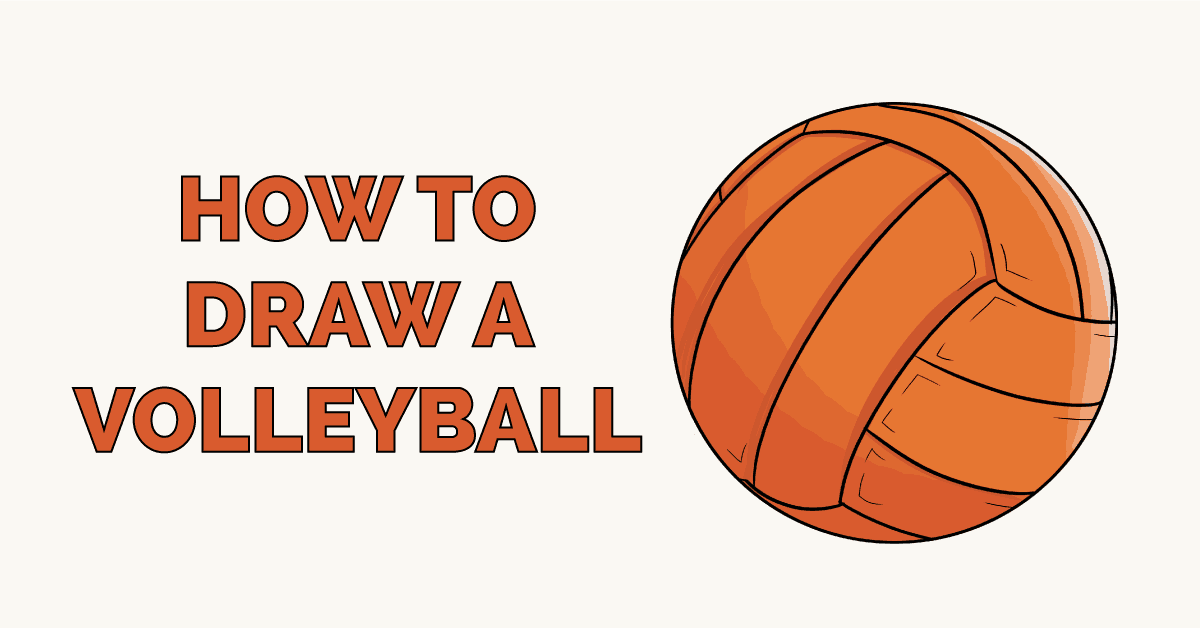 How to Draw a Volleyball. Easy to Draw Art Project for Kids. See the Full Drawing Tutorial on https://t.co/972o6KztyT . #Volleyball #BackToSchool #DrawingIdeas https://t.co/7F6MXNY9xZ