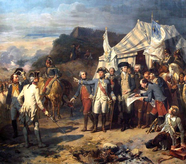 On this day in 1781, American and French troops under the command of George Washington surround the British at Yorktown. The redcoats will hold out for 21 days before surrendering, after which the Crown will open negotiations to finally end the War of Independence.