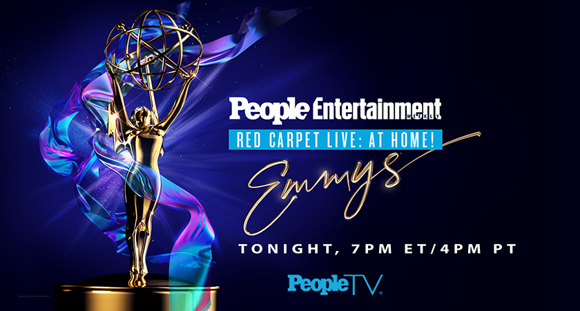 Television's biggest night is here! 🏆  Stream the #Emmys #RedCarpetLive: At Home! on @peopletv on The #Roku Channel ➡️ https://t.co/XGQcZ1QVQC https://t.co/rFAY3w4sVN
