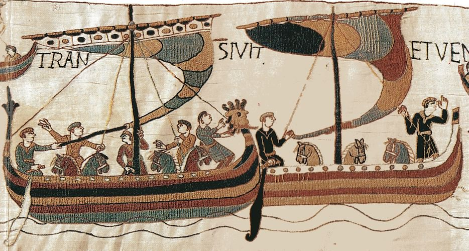 On this day in 1066, William of Normandys 700-ship fleet sets sail from France for England. Just 17 days later, hell crush Harold II at the Battle of Hastings.
