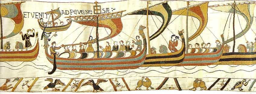 On this day in 1066, William of Normandy lands his army at Pevensey Bay. Just 16 days later, hell win the Battle of Hastings and the throne of England.