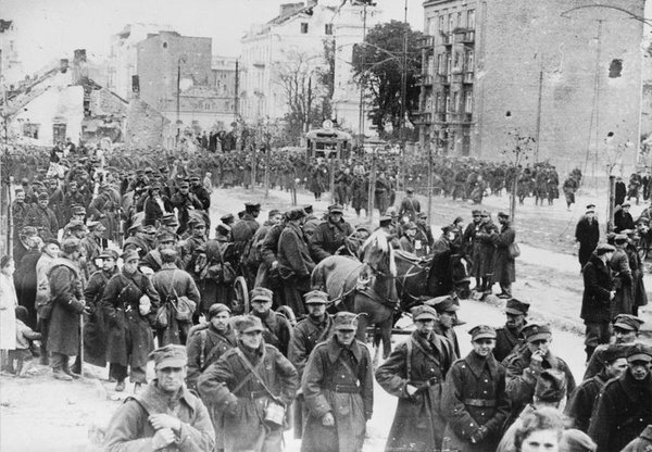 On this day in 1939, Warsaw falls to Germany. The city will endure 1,939 days of ruthless Nazi occupation.