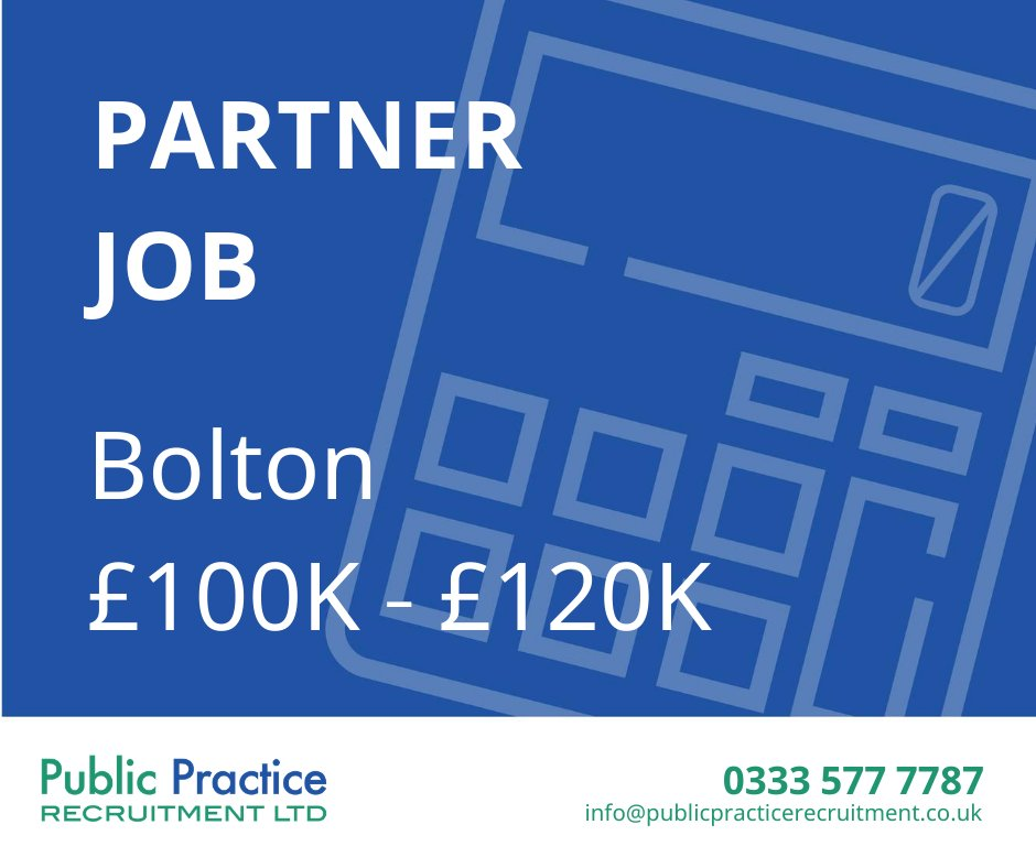 Calling all Partners....  https://t.co/ZNRsRn2c5n  #accountant #partner #recruitment #vacancy #manchester https://t.co/SEvW41mQgL