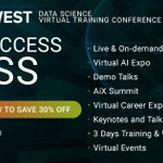 Image for the Tweet beginning: Experience everything ODSC West has