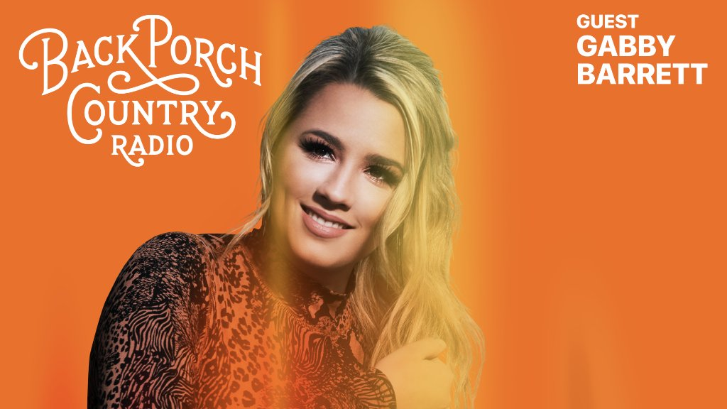 Replying to @AppleMusic: Rising star @GabbyBarrett_ stops by #BackPorchCountry Radio with @aleciadavis.  Check out their conversation now: