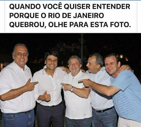 #LuladrãoNuncaMais #CabralEPezãoNuncaMais #PaesEPedroPauloNuncamais #PoliticosPilantrasNuncaMais https://t.co/e7W0sIhtap
