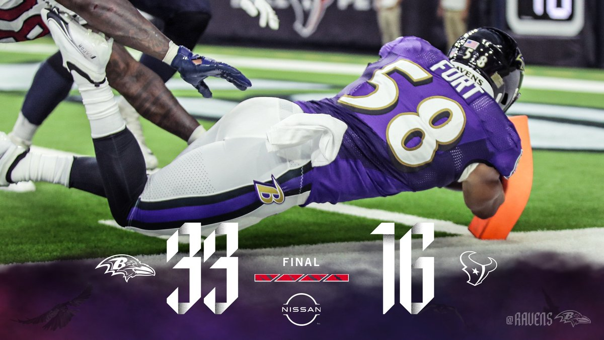 RAVENS WIN‼️   2-0 😈 https://t.co/9Xv6xELUI8