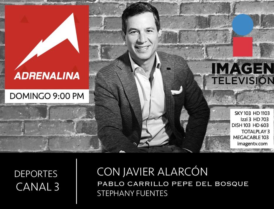 9:00 PM | Los esperamos en #Adrenalina con lo mejor de la semana en el mundo deportivo por @ImagenTVMex. Aquí también nos pueden ver en vivo 👉🏼 https://t.co/ymzsvdebAl https://t.co/S238fYACJw