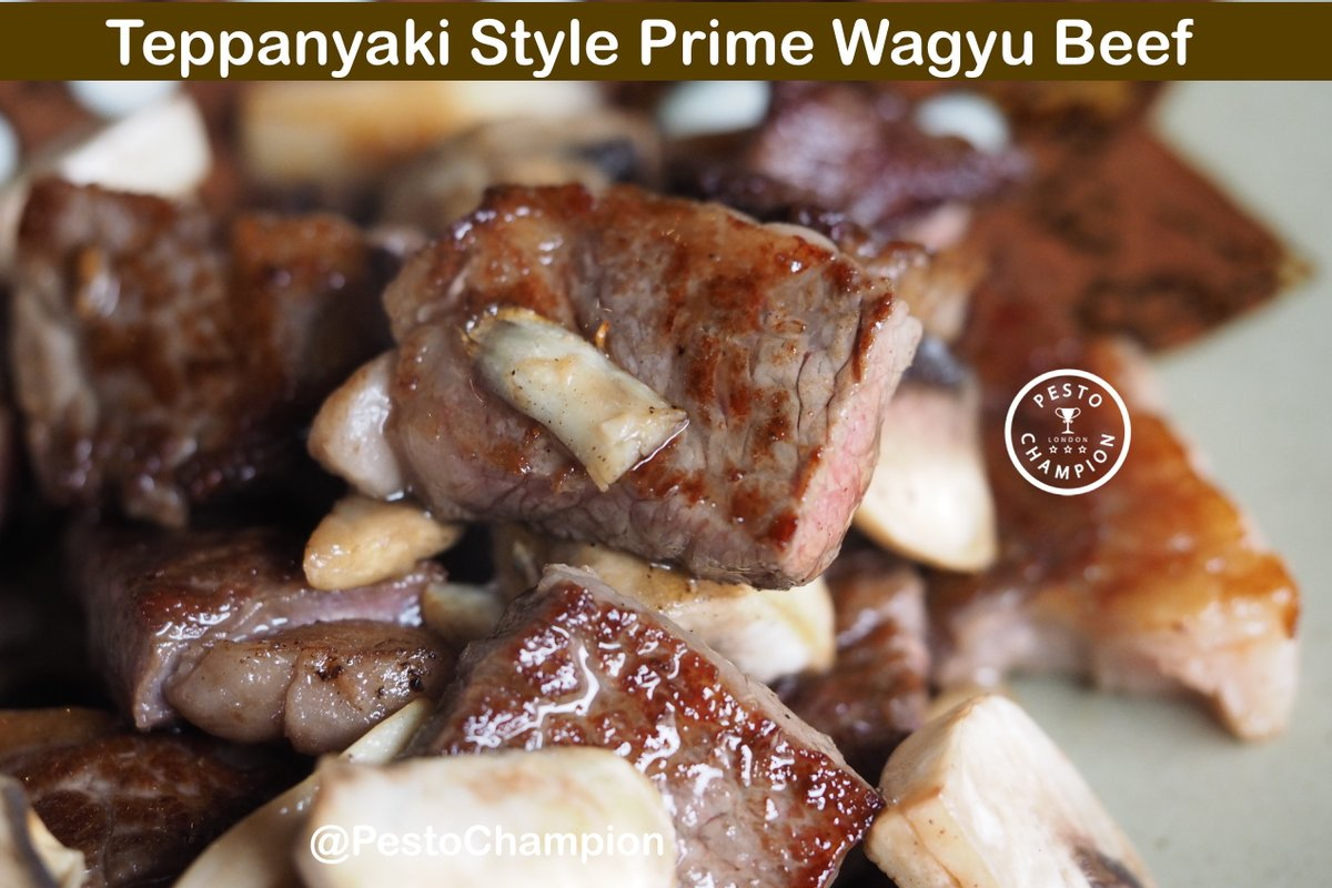 Fancy some tasty #wagyu in London? . Click link to watch more: ▶ https://t.co/9pGj2erhxp . #Pestochampion https://t.co/H50sAEhFAj