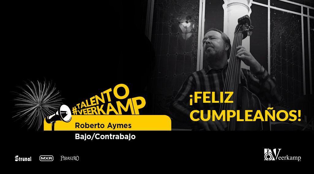 🚨¡Este fin de semana celebramos el cumpleaños de gran @AymesRoberto, quien forma parte de nuestro #TalentoVeerkamp! 🎉  ¡Esperamos que este sea otro año lleno de música y éxito! 🎂  #JuntosHaciendoMúsica 🎶 https://t.co/UR50YiBtEv