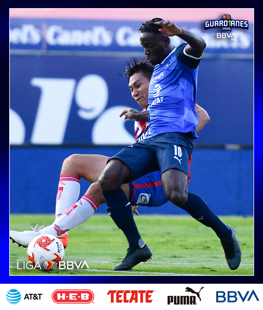 Ake Loba abrió la cuenta para @Rayados con su tercer gol en este #Guard1anes2020   El marfileño ya cuenta con cuatro goles con la camiseta de los norteños tras llegar como refuerzo para el #Clausura2020  #Jornada11 ➡️ #Guard1anes2020 ⚽ #LigaBBVAMX 🤠 https://t.co/9PYawTKz4c
