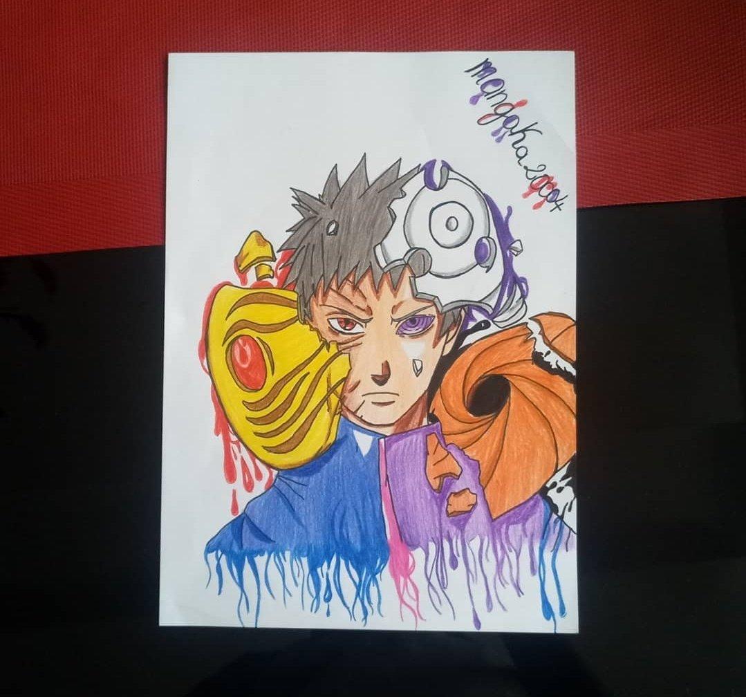 Obito  Draw  #obito #mangaka20004 #obitouchiha #naruto #narutoshippuden #uchiwa #sharigan #madara #dessinobito #dessinnaruto #dessinobitomanga #manga #mangaka #anime #animemanga #mangaanime #manganime https://t.co/MOqiziCddE