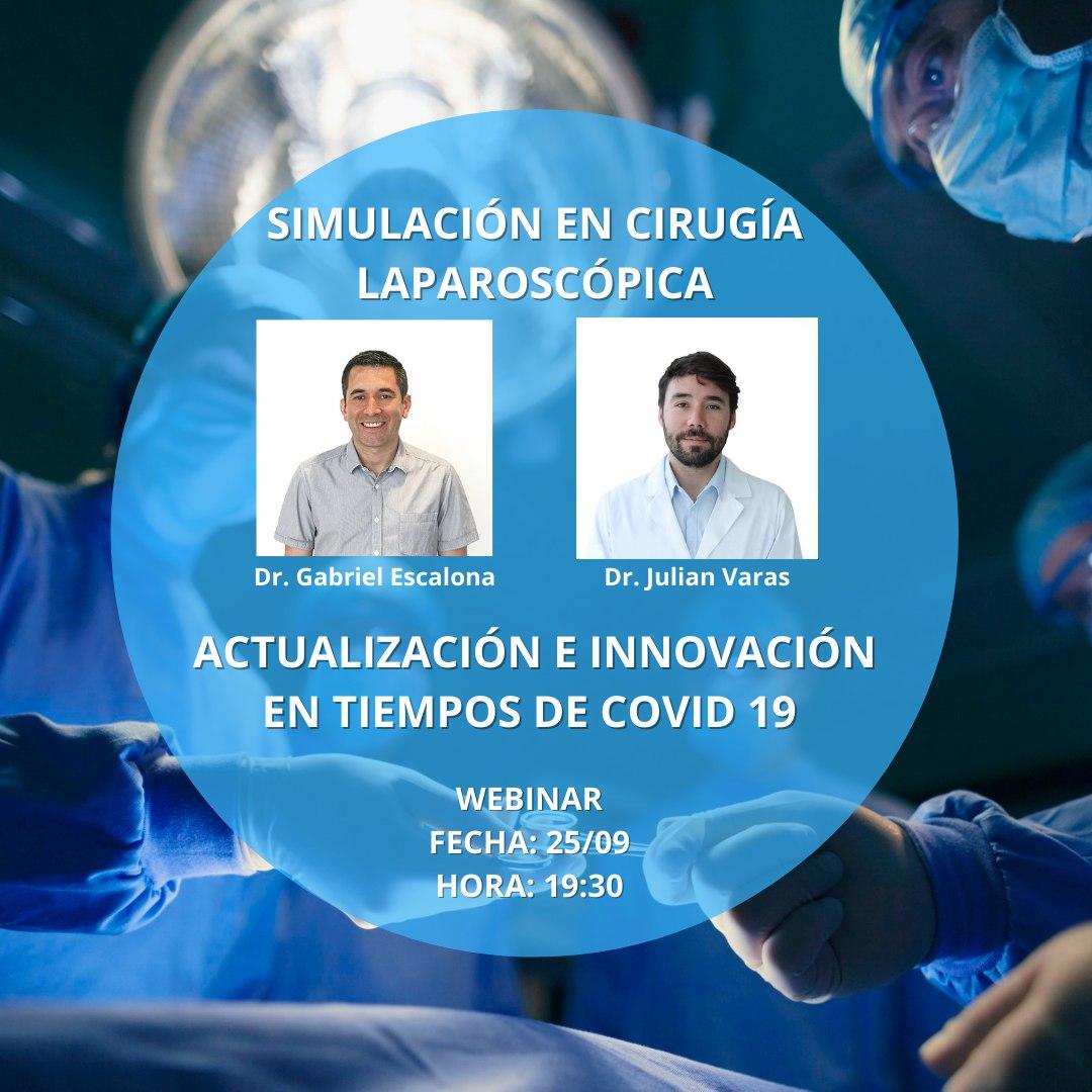 El día 25/09 los Dr. @gaboescvi y @julianvarascom serán expositores en este webinar que es organizado por la Sociedad Paraguaya de Cirugía Endoscópica y la Asociación Latinoaméricana de Cirugía Endoscópica.  Link: https://t.co/n6wVSZ7NQ3  #Webinar #Laparoscopia #Covid19 #Doctores https://t.co/SNversljyv