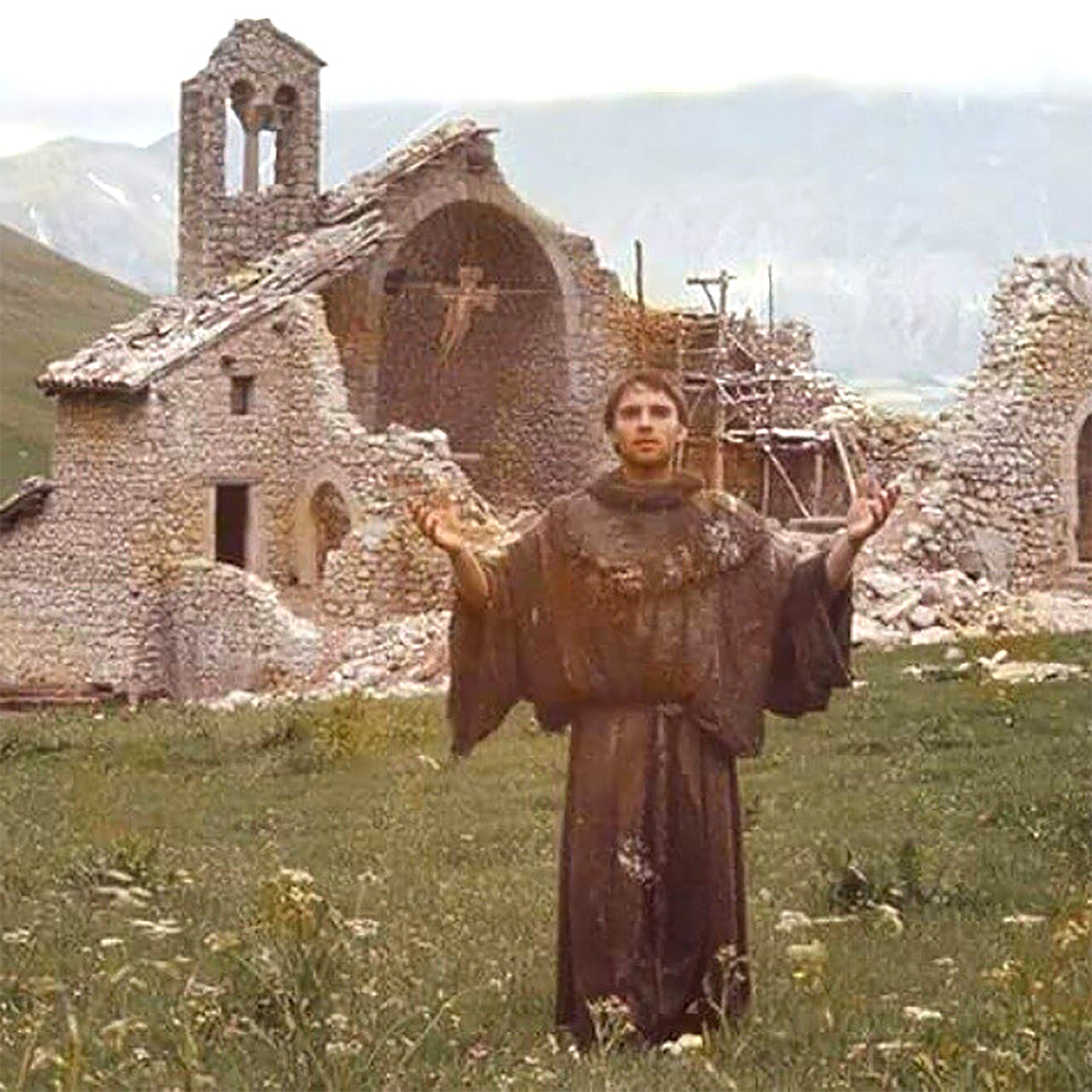 São Francisco de Assis, reconstrói a Minha Igreja