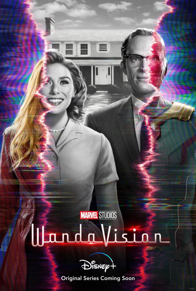 #WandaVision, an Original Series from Marvel Studios, is coming soon to #DisneyPlus.