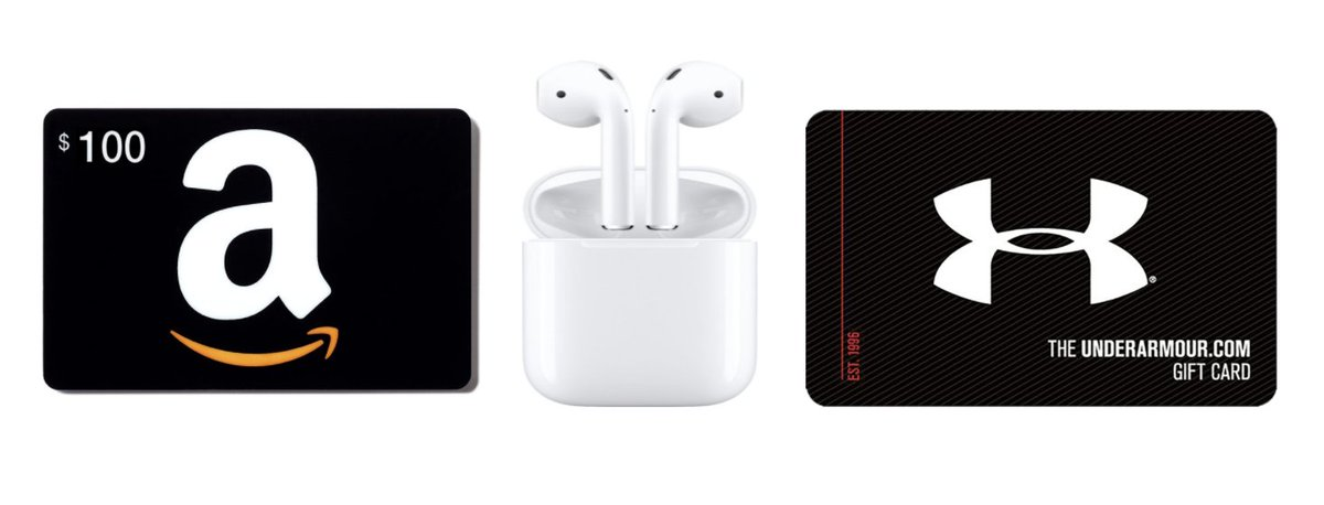 Join for a chance to win these prizes! #free #apple #airpods #giftcard #joinfree #winbig  https://t.co/Qgx475X99t https://t.co/XgzEgTb4iY