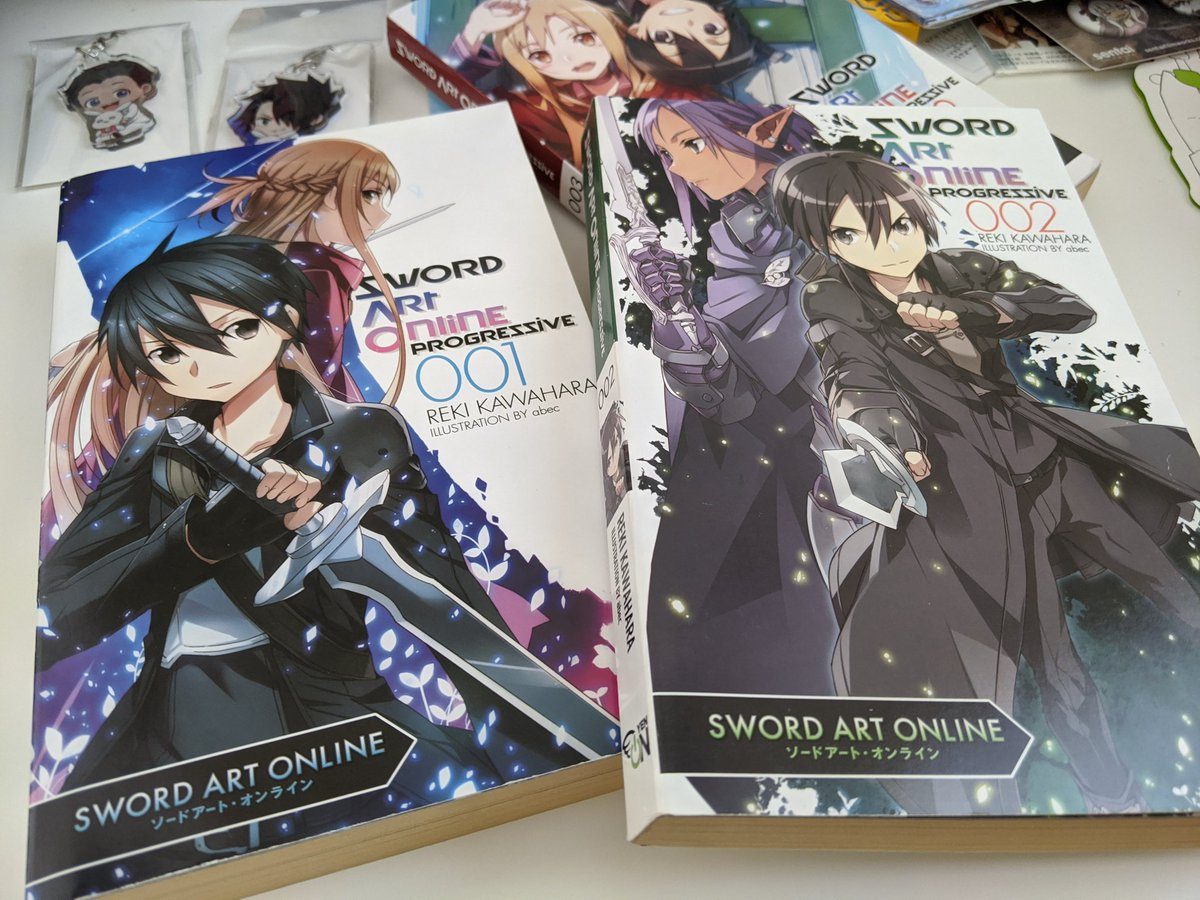 Its time to restart with Sword Art Online: Progressive (EN light novel published by @yenpress)