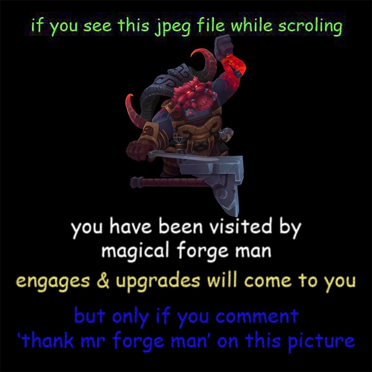 thank mr forge man https://t.co/4ogNwYCqfX