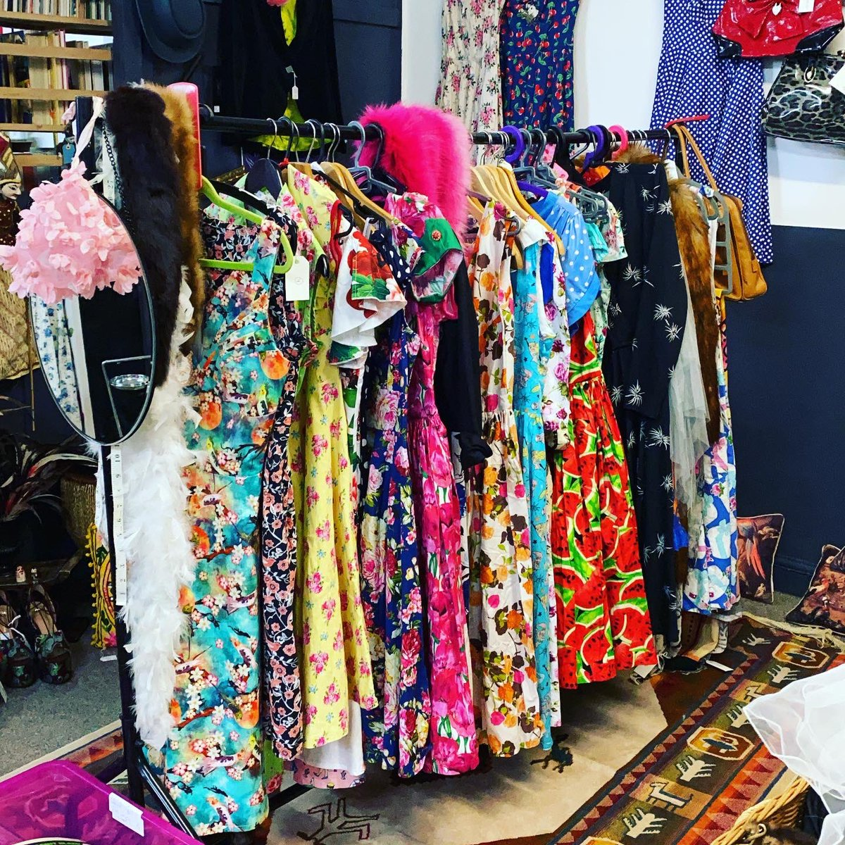 We have a new dealer here at Astra and they have pretty vintage inspired frocks amongst other fantastic items. #vintageinspired #vintagefrocks #prettydresses #shoes #bags #astraantiquescentre #hemswell #lincolnshire https://t.co/be4jY97Xu9