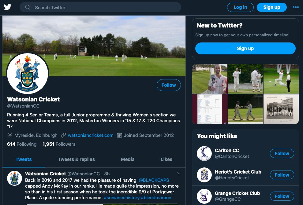 Watsonian Cricket Club have the following amazing sponsorship opportunity available: Social media Sponsor. Check it out here: https://t.co/xPbj1Hurse #sponsorship #TeamSNAP #Grassroots @snapsponsorship https://t.co/mgJ0PFHYcD