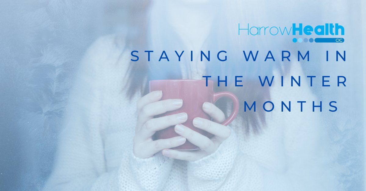As it starts to cool down, it's important to take steps to stay healthy and warm. The NHS website has some tips on how you can stay well throughout the winter. Read more here: https://t.co/L0VnEqdOz5 #nhs #nhsadvice #winter #cold #staywarm #healthadvice #harrowhealth https://t.co/K1dIsObS99