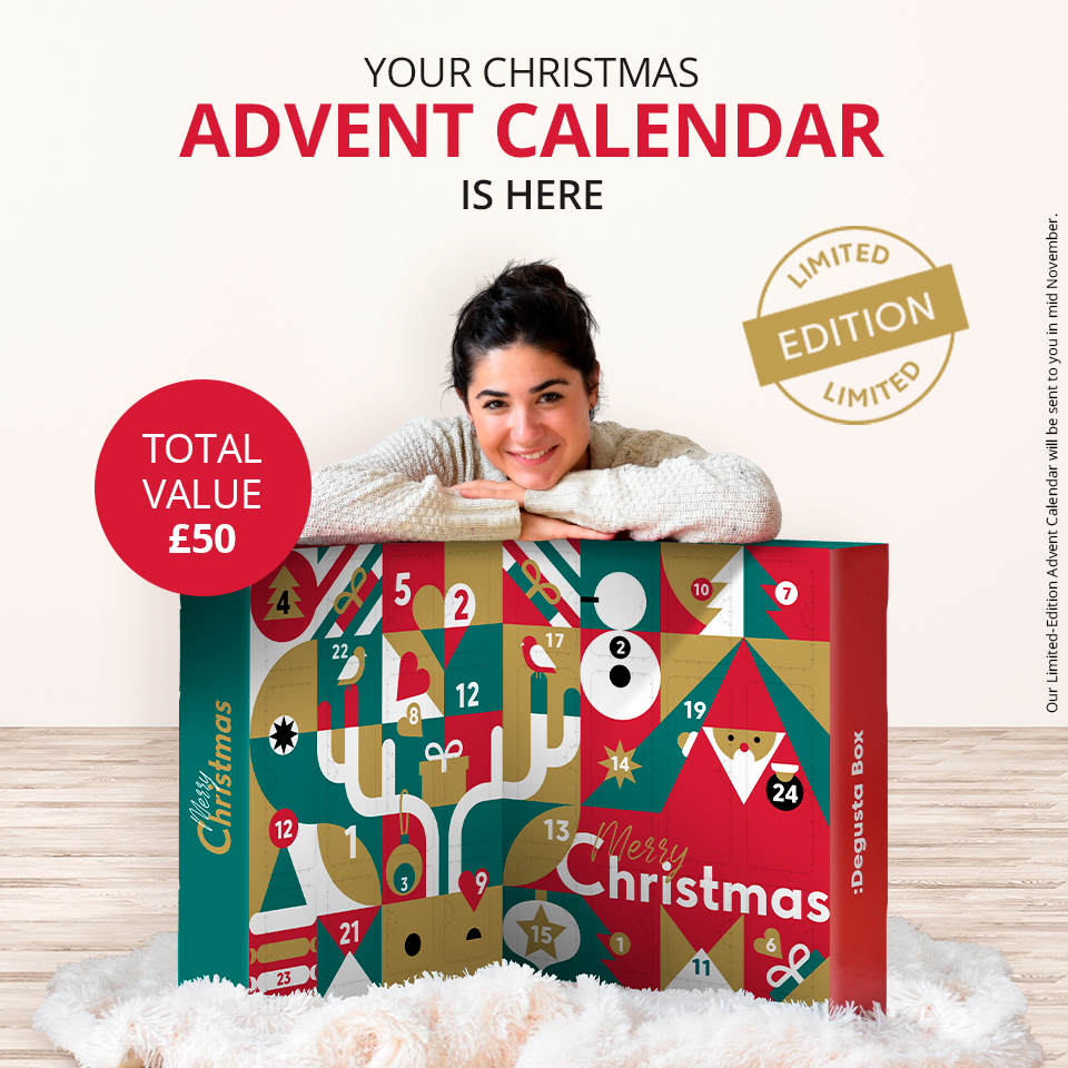 Ad | Degusta Box Limited-Edition Advent calendar: 24 innovative food and drink products for 24 days of festive foodie fun.  https://t.co/VUdaIXSvGq  #affiliate #foodbox #LimitedEdition #AdventCalendar https://t.co/xOdskF3crh