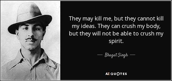Tributes to the Brave Man of India  Happy Birthday Leader  Jai Hind 🇮🇳  #happybirthdaybhagatsingh #BhagatSingh https://t.co/TnDuULWarU