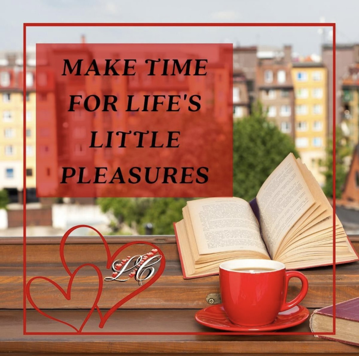Don't forget... Make time for life's little pleasures ❤️   https://t.co/2k976xU01y #bookworm #bookaholic #bookish #reading #readingtime #loreleiconfer #romancebooks #booklover #oneclick #oneclickaddict #romanticsuspense #romanticfiction #HEA #KU https://t.co/WsPaZZw5ce