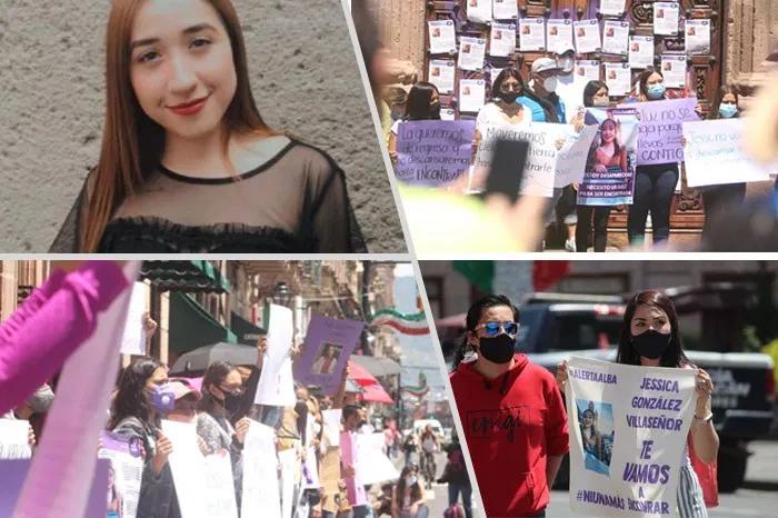 #Morelia   Miles de personas marchan en Morelia para exigir justicia por la muerte de Jessica González, joven de 21 años desaparecida el pasado lunes y cuyo cuerpo fue hallado el fin de semana con signos de violencia. https://t.co/7m9hda0FaS