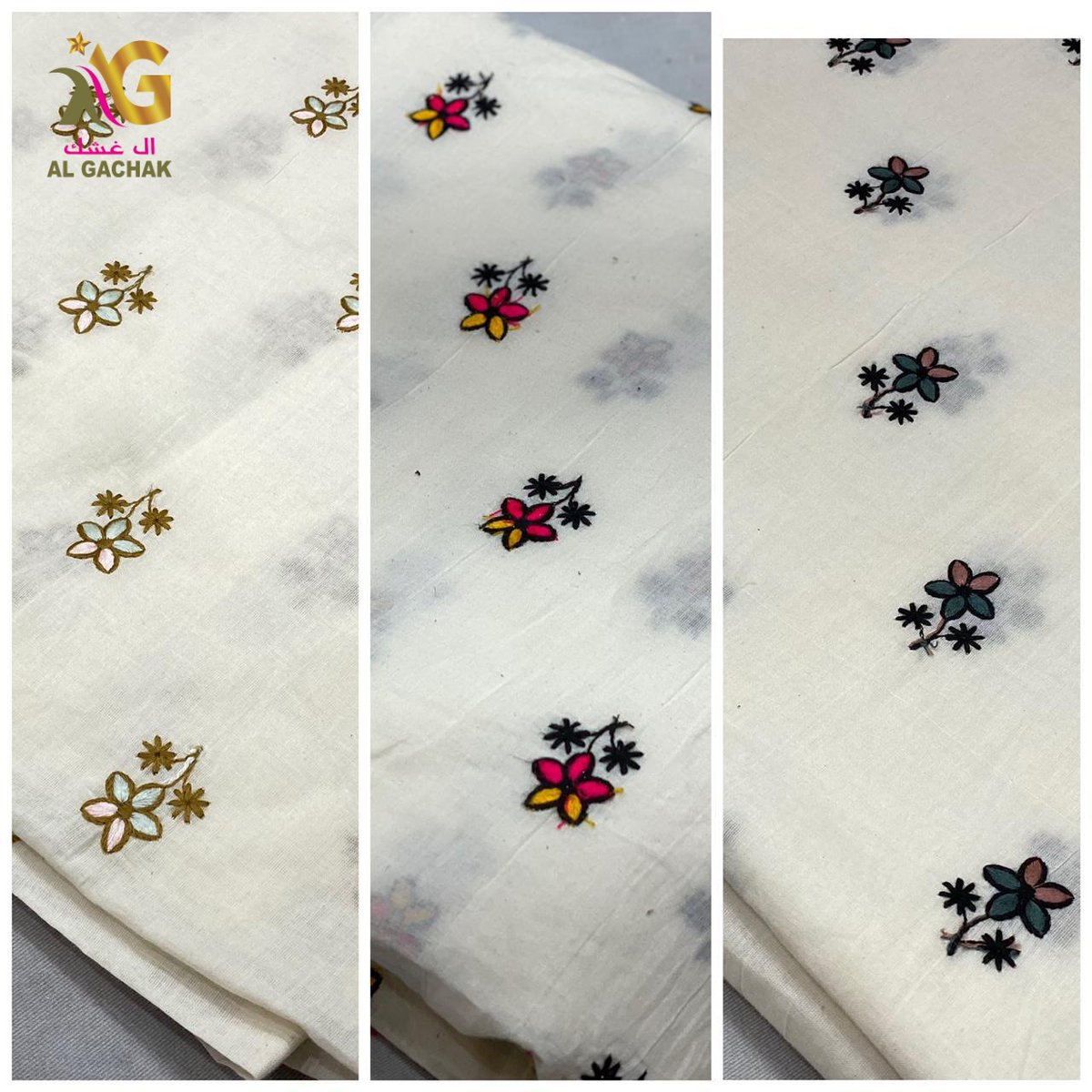"""Grab This Pure Quality #Cotton Combo Of Cotton Booti Embroidery & Cotton #Embroidery Border #Fabric 😍 Width :48"""" inch Price :Approx 3 BHD/meter(each) MOQ: 14 Meter Dealing in wholesale and for #boutique use! #l4l #F4F #Bahrain #boutiqueshopping #Like #fashiondesigner #follo https://t.co/HRzg1ZvluD"""