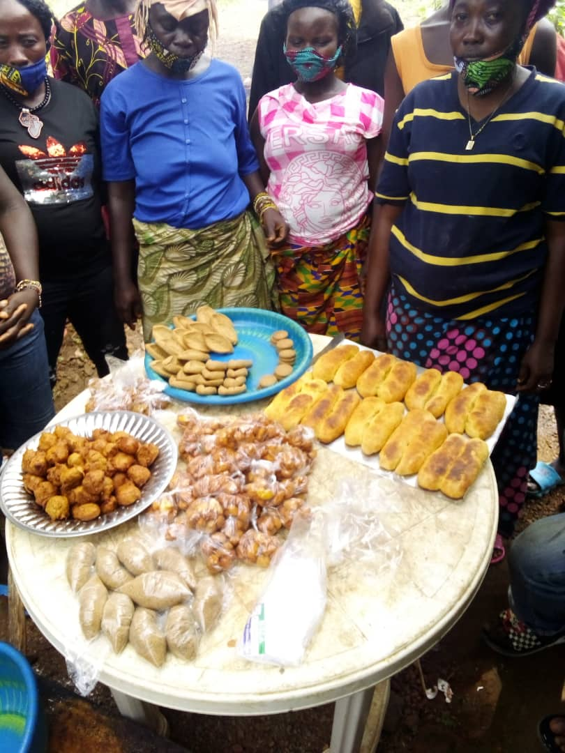 Training on #Food Value Chain Development of different #Agricultural and Non-Timber #Forest Products with emphasis on Orange Sweet Potatoes by @SendSierraleone for the @BMZ_Bund & @Welthungerhilfe funded LANN+ Project. #nutrition #foodsecurity #foodsystem https://t.co/LbAbIuo6zm