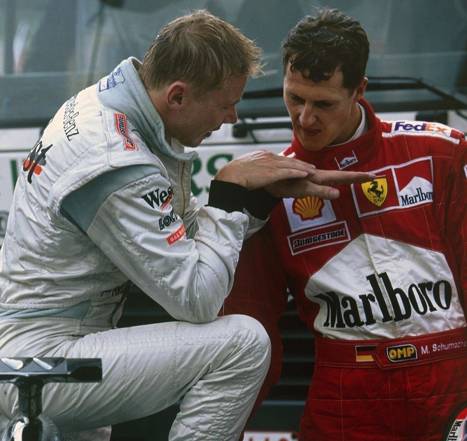 L'ultimo dei giusti Happy Birthday Mika #Hakkinen!  ...and #KeepFightingMichael - always  #vintageracing @F1 #machenesannoi2000 @Radio1Sport @RaiSport @SkySportsF1 @SkySportF1 @P300it @autosport https://t.co/n6NruVjBVh