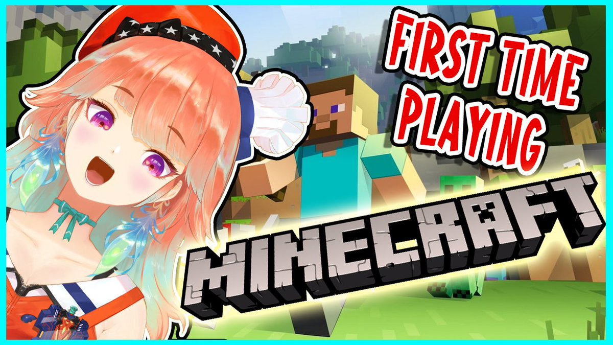 Spontaneous new stream project starting from today!!! (in 40 minutes) Let's start all over and forget what happened lolFIRST TIME PLAYING MINECRAFT!!!!!!!!!今日いろいろうまくいかなかったから気を取り直して新しいプロジェクトを!!!初マイクラーーー!!