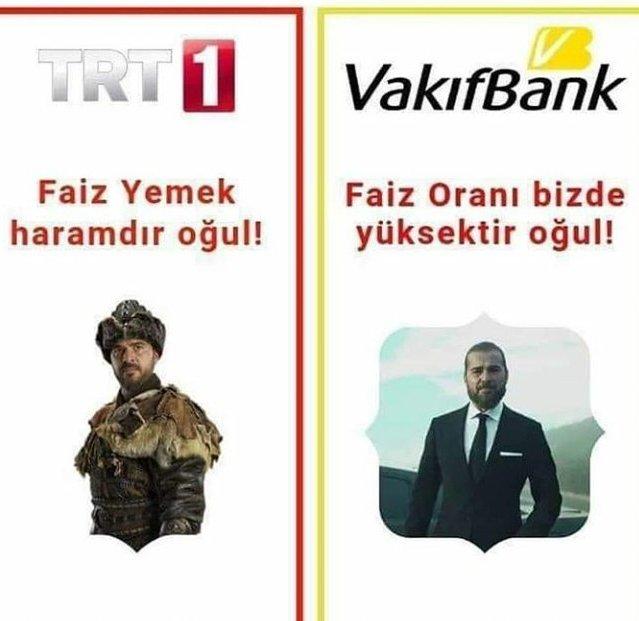 Dolar Faiz haram TRT 1 Vakıfbank çok faiz helal #dolar https://t.co/8spRaPZm4u
