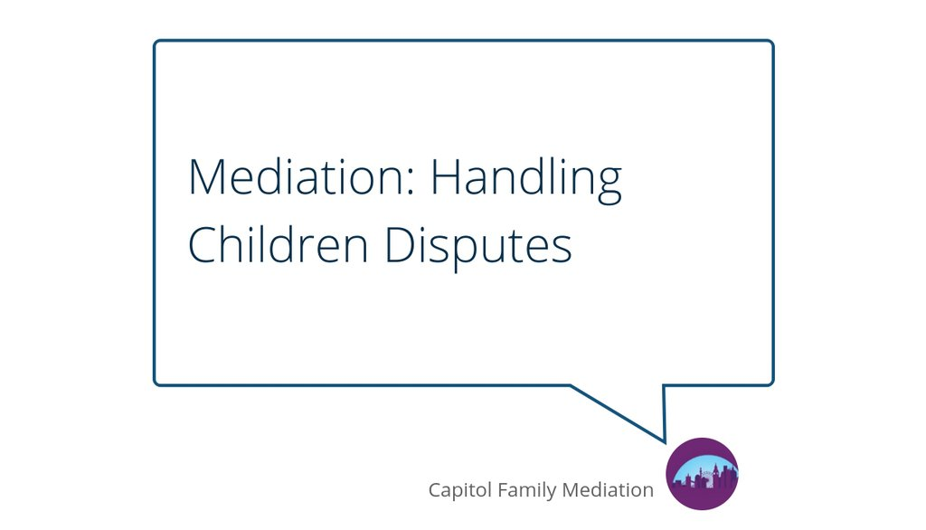 Since children's disputes can be quite challenging to resolve, it is important that both parents and the mediator are on the same page.  Read more 👉 https://t.co/TL7VFfzN9K  #mediation #divorce #children #parents #childcustody #mediator #separation #coparenting https://t.co/z9I7V5XDIa