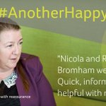 "Image for the Tweet beginning: #AnotherHappyClient:""Nicola and Rachael Bromham were"