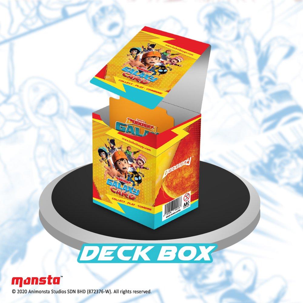 BOBOIBOY GALAXY New Monsta Original Trading Card FUSION Pack