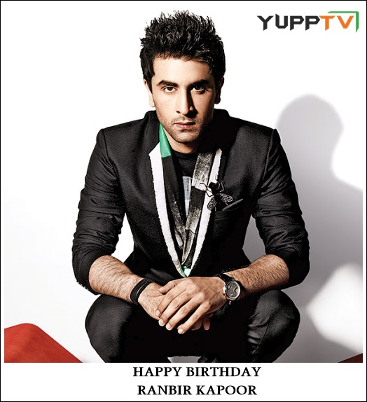 Here's wishing a very Happy Birthday to our #Rockstar #RanbirKapoor Keep shining and continue enthralling us with your charisma and impeccable characters like #Jordan #Kabir #Sid #Ved #Prem #HappyBirthdayRanbirKapoor https://t.co/OWq0fLc5R4