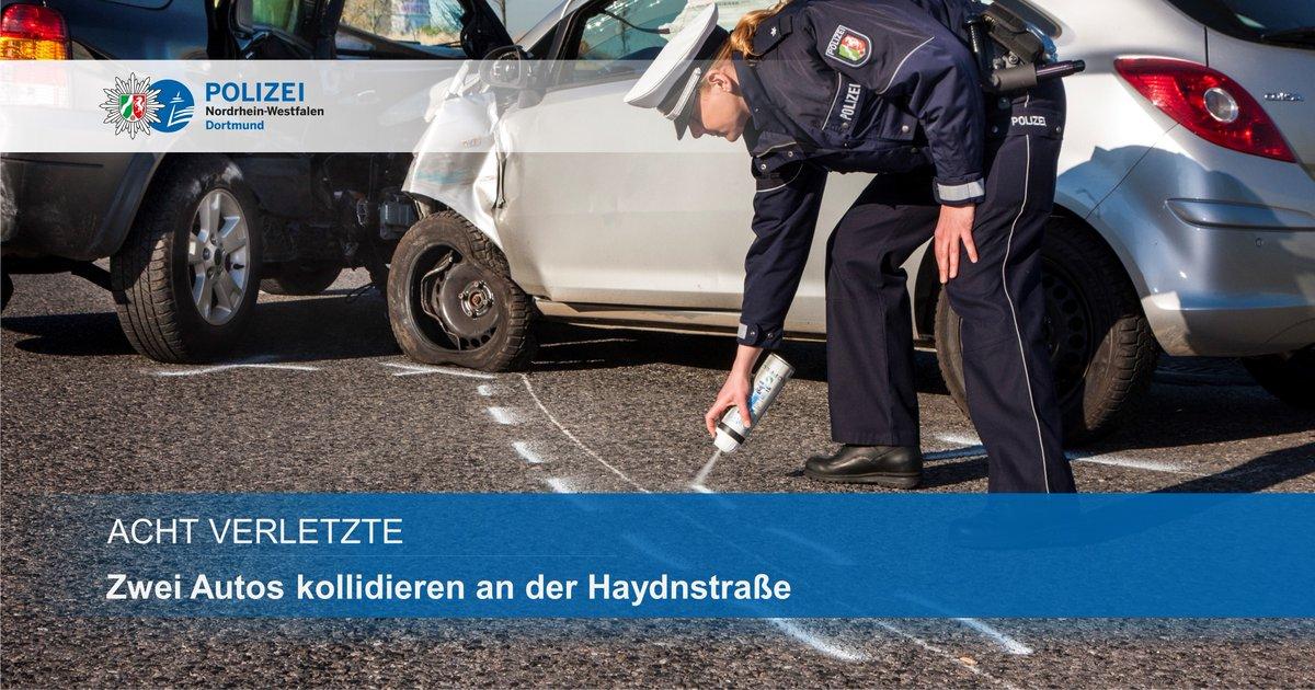 Bei einem Verkehrsunfall sind am 📆 Sonntagabend, 27. September, acht Personen verletzt worden: https://t.co/RXPy1LOG9C #polizei #verkehrsunfall #dortmund https://t.co/UyDaALaukF
