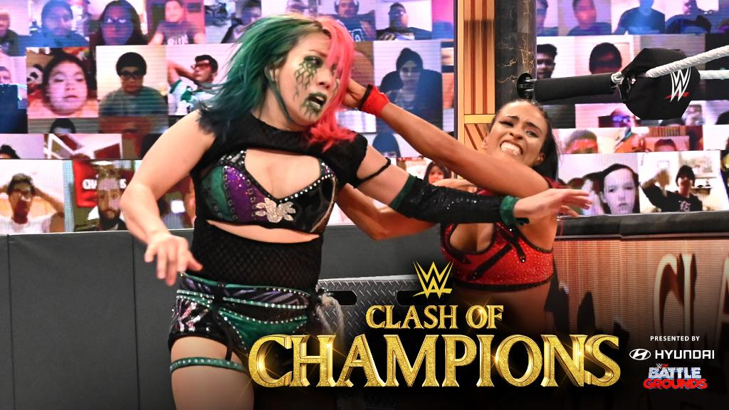 RT @WWE: .@Zelina_VegaWWE was not, in fact, ready for @WWEAsuka at #WWEClash. ➡️ https://t.co/bfMZPMQyL3 https://t.co/TNYxZTaxPY