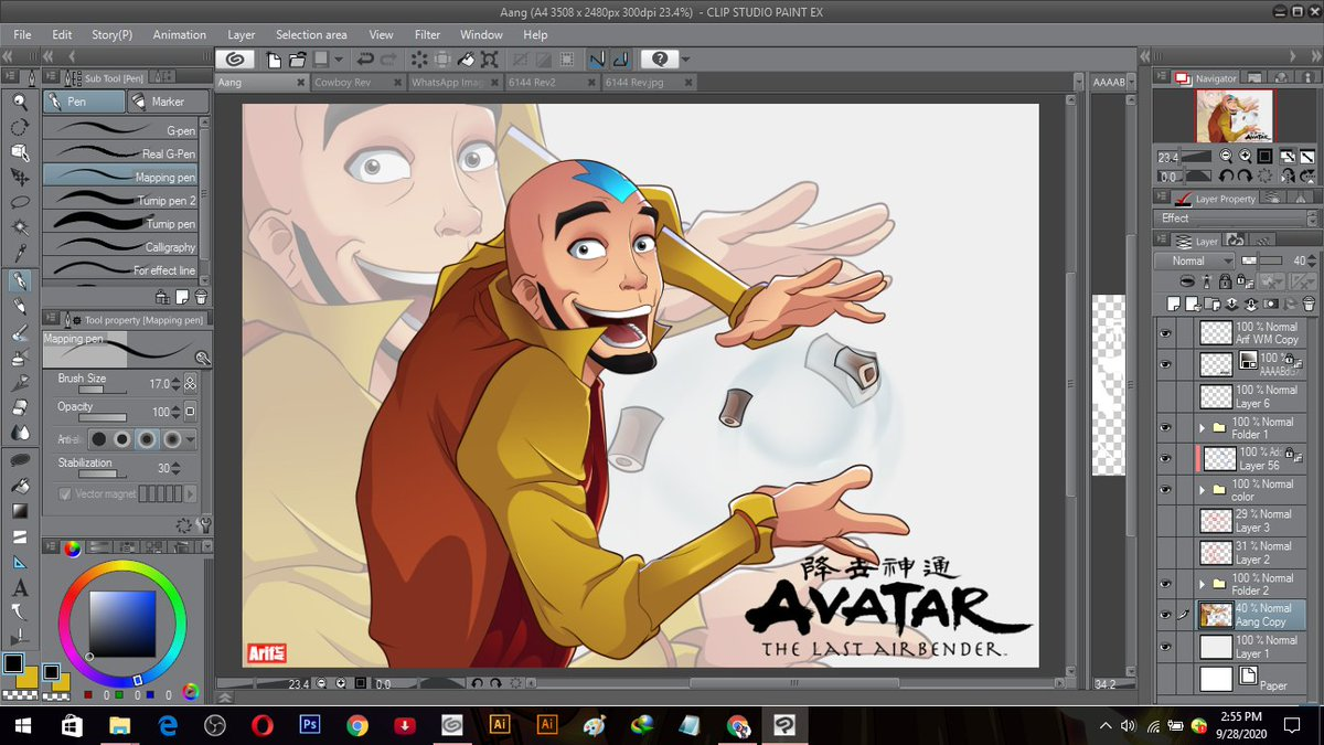 avatar aang he always showed his skill in air Bender . . . . and don't forget, I open a drawing commission, you can click on my fiverr here : https://t.co/pw21ro4X8I  and follow my instagram : https://t.co/JmUnrLn59z #AvatarTheLastAirbender #Avatar #aang https://t.co/vFINKkxXhc
