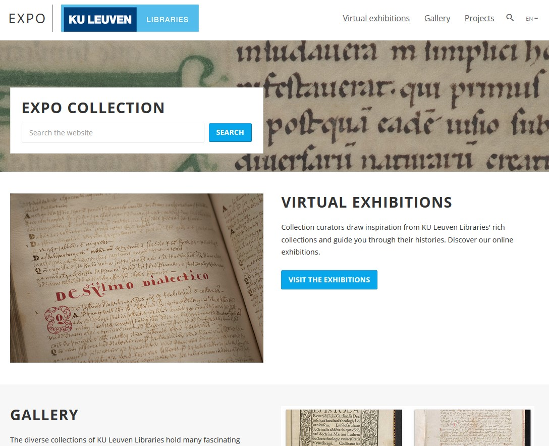 5/10 In close collaboration with our colleagues from @LIBISintoinfo we launched 2 platforms to publish collections online: EXPO, a virtual exhibitions and a gallery platform (https://t.co/ODCjjGCKuZ) an Digital Heritage Online, a browsing environment https://t.co/WEzA0dtOV6 https://t.co/cvnO2ZTY5G