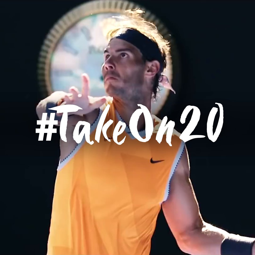 @rafaelnadal is back on the move. Help him take on title no.20 🏆 and we'll help tackle the impact of 2020 with a donation to the @frnadal  Get involved to have your message displayed in Paris for Rafa to see: