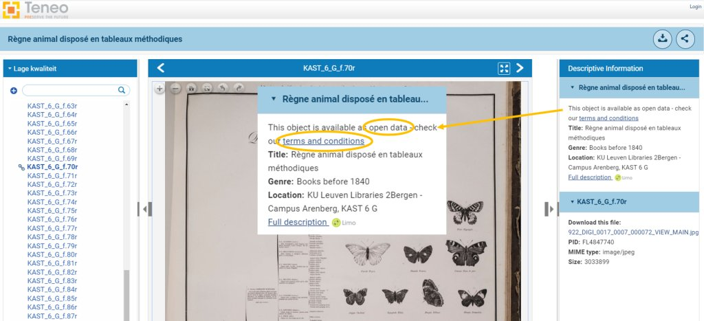6/10 We shared exciting news: KU Leuven Libraries adopted an open data policy for its digitised collections! This means representations of originals from the library's public domain holdings may be freely shared and (re-)used by all. https://t.co/CJ9TSWsByE https://t.co/xCpfnexq3x