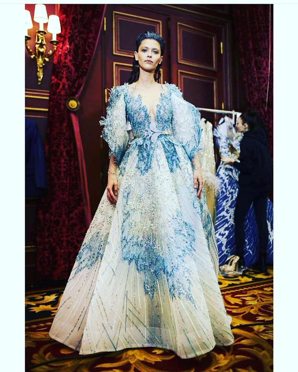 Attitude is a choice! Behind the scenes #Atlantis, Spring Summer Couture Collection 2020 by Ziad Nakad, during #ParisFashionWeek. @mephistophelesproductions 💙 --- #ZN #Lebanon #Beirut #Paris #France #NewCollection2020 #SS2020 #FashionShow #weddinginspiration #bridal #instawed https://t.co/nljAbScmGH